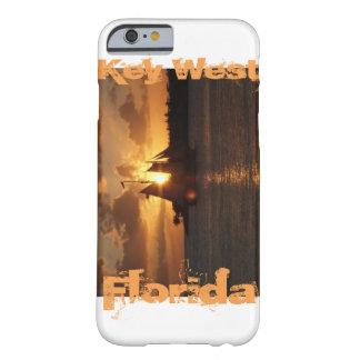 Puesta del sol de Key West la Florida Funda Barely There iPhone 6