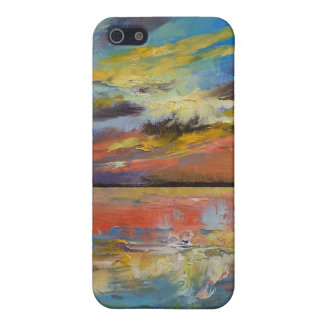 Puesta del sol de Key West la Florida iPhone 5 Funda