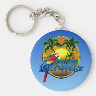 Puesta del sol de Key West Llaveros