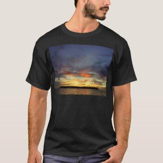 Puesta del sol de Key West Playera