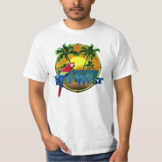 Puesta del sol de Key West Playeras