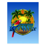 Puesta del sol de Key West Postal