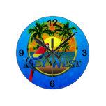 Puesta del sol de Key West Relojes