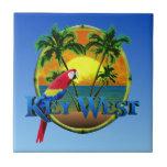 Puesta del sol de Key West Teja Cerámica