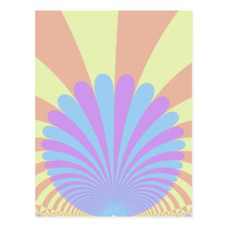 Puesta del sol de Klein Tarjetas Postales