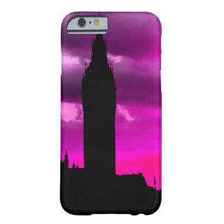 Puesta del sol de la ciudad de Londres Funda Para iPhone 6 Barely There