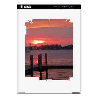 Puesta del sol de la Florida iPad 3 Skins