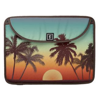 Puesta del sol de la Florida Fundas Para Macbooks
