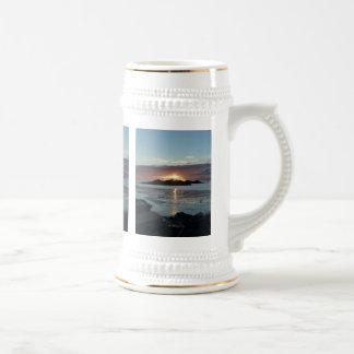 Puesta del sol de la opinión de Palmer Taza De Café