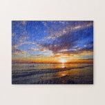 puesta del sol de la playa de Boracay Rompecabeza Con Fotos