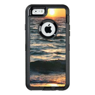 Puesta del sol de la playa del verano funda otterbox para iPhone 6/6s