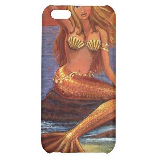 Puesta del sol de la sirena - caso del iPhone 4