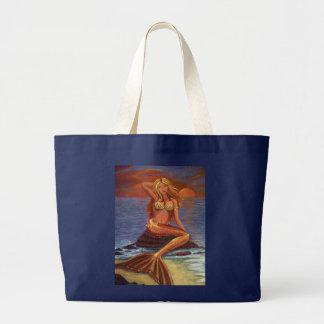 Puesta del sol de la sirena - la bolsa de asas