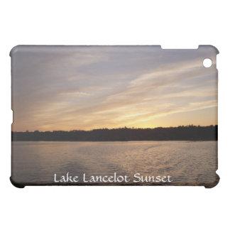 Puesta del sol de Lancelot del lago