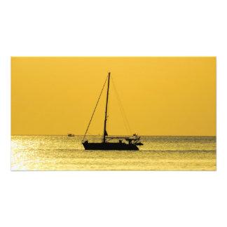 Puesta del sol de Lanta de la KOH de la playa de Arte Fotografico
