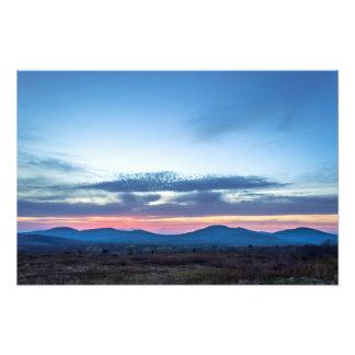 Puesta del sol de las colinas de Camden Arte Fotografico