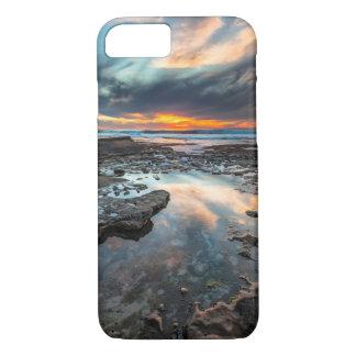 Puesta del sol de las piscinas de la marea funda iPhone 7