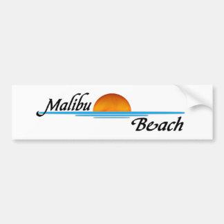 Puesta del sol de Malibu Pegatina Para Auto