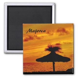 Puesta del sol de Mallorca - imán