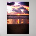 Puesta del sol de Marina Del Rey Impresiones
