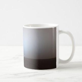 Puesta del sol de Marte Tazas De Café