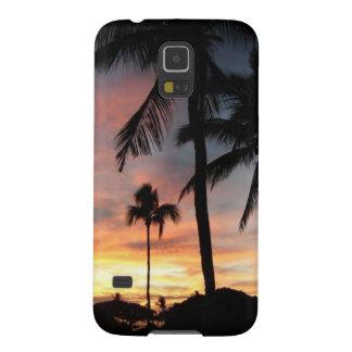 Puesta del sol de Maui Fundas De Galaxy S5