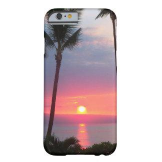 ¡Puesta del sol de Maui! .JPG Funda De iPhone 6 Barely There