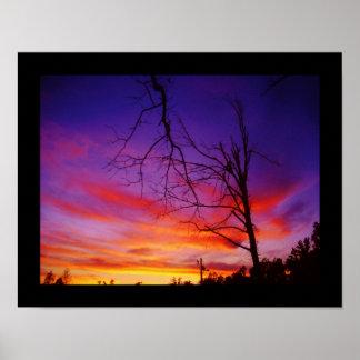 Puesta del sol de Missouri Impresiones