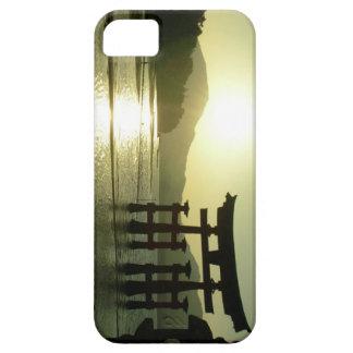 Puesta del sol de Miyajima iPhone 5 Funda