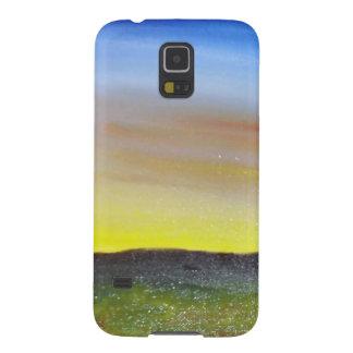 Puesta del sol de Montana Carcasas De Galaxy S5
