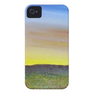Puesta del sol de Montana iPhone 4 Case-Mate Cárcasa