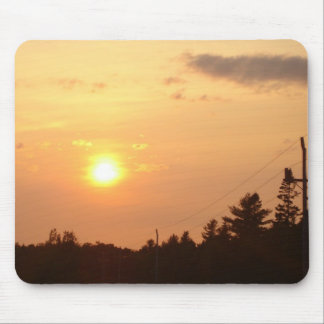 Puesta del sol de Nueva Escocia Alfombrilla De Raton