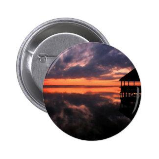 Puesta del sol de OBX Pin Redondo De 2 Pulgadas