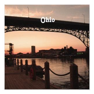 Puesta del sol de Ohio