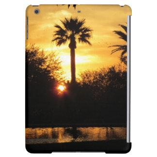 Puesta del sol de oro sobre Tucson