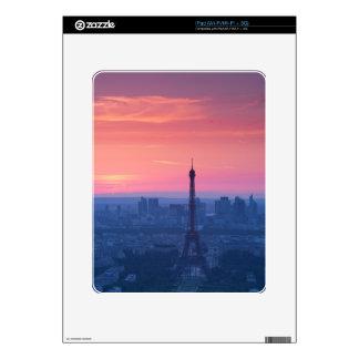 Puesta del sol de París Skins Para eliPad