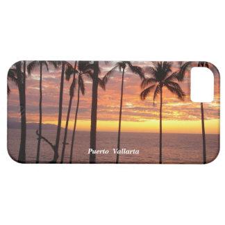 Puesta del sol de Puerto Vallarta iPhone 5 Carcasa