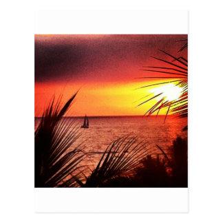 Puesta del sol de Puerto Vallarta Postales