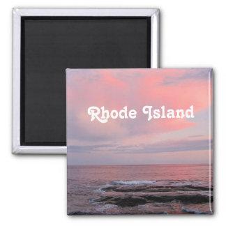 Puesta del sol de Rhode Island Iman De Frigorífico