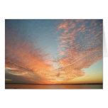 Puesta del sol de Rockwall Tejas Tarjeta De Felicitación
