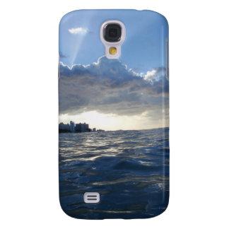 Puesta del sol de Sam Juan Funda Para Galaxy S4