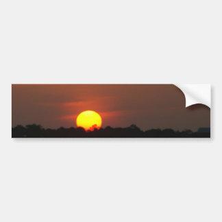 Puesta del sol de San Blas del cabo Pegatina Para Auto