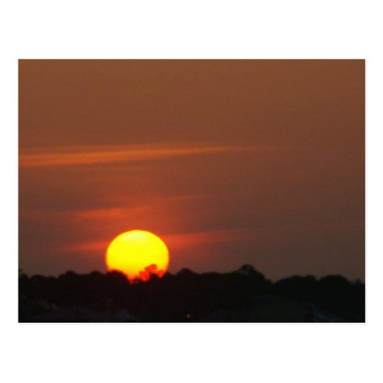 Puesta del sol de San Blas del cabo Postales