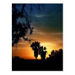 Puesta del sol de San Diego Postal