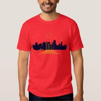 Puesta del sol de San Francisco Camisas
