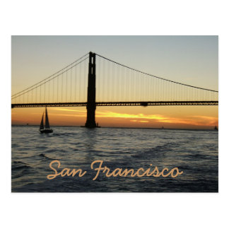 Puesta del sol de San Francisco Postal