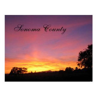 Puesta del sol de Santa Rosa Postales