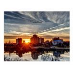 Puesta del sol de Saskatoon