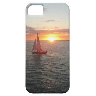 Puesta del sol de Solent iPhone 5 Case-Mate Coberturas