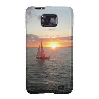 Puesta del sol de Solent Samsung Galaxy SII Carcasas